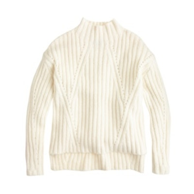 Oversize Mockneck Sweater