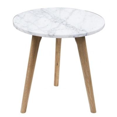White Stone Table Medium