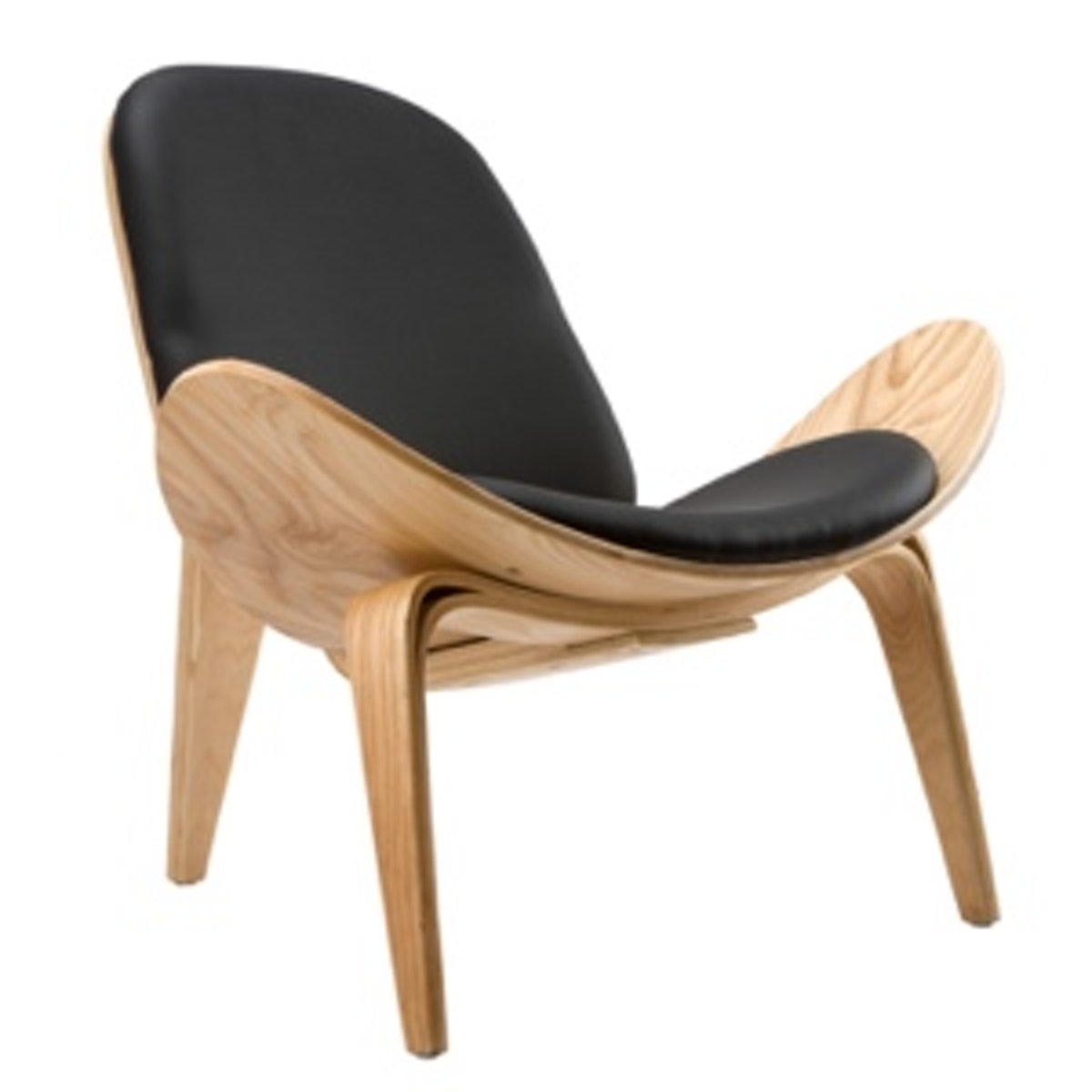 Wings Chair in Natural Black
