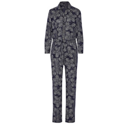 Molly Printed Cotton Jumpsuit
