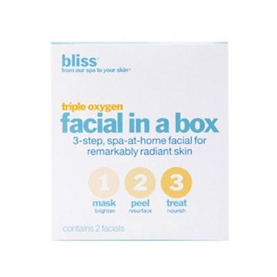 Triple Oxygen Facial in a Box