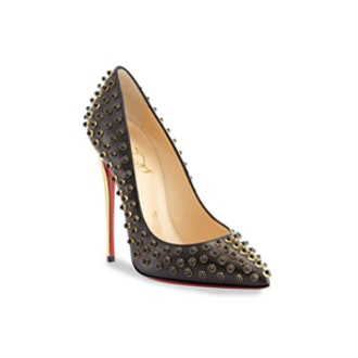 Studded Red Sole Pump