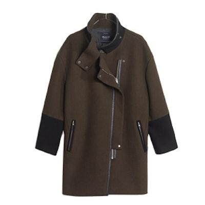 City Grid Coat