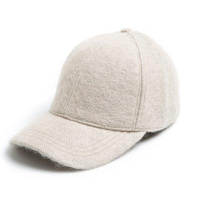 Solid Wool Baseball Cap