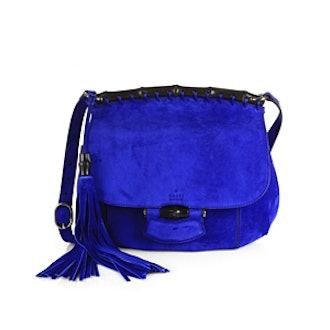 Nouveau Suede Shoulder Bag