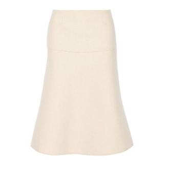 Felt Midi Skirt