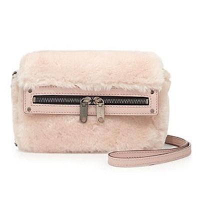 Skylar Faux-Fur Mini Crossbody Bag