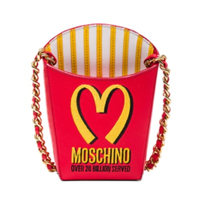 French Fry Bag in Red