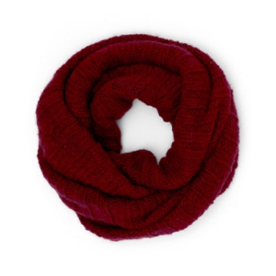 Cashmere Ribbed Neck Warmer