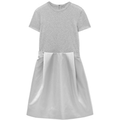 Contrast T-Shirt Dress