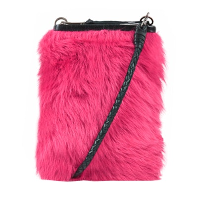 Sheepskin Wallet Bag