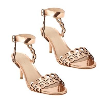 Opal Geometric-Cutout Sandals