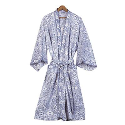 Paisley Cotton Robe