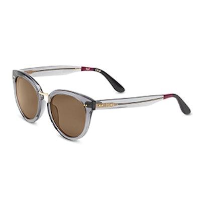 Yvette Grey Crystal Sunglasses