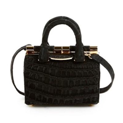 Small Jamie Doctor Bag in Black Croc