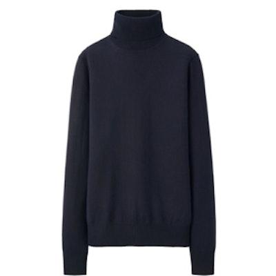 Extra Fine Merino Turtle Neck Sweater