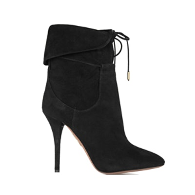 + Olivia Palermo Suede Ankle Boots