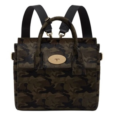 Cara Delevingne Camo Backpack