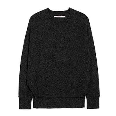 Eugenia Cashmere Sweater in Black