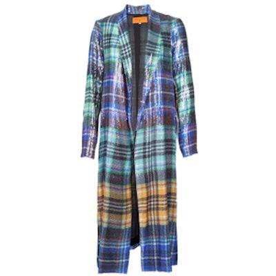 Celtic Plaid Coat