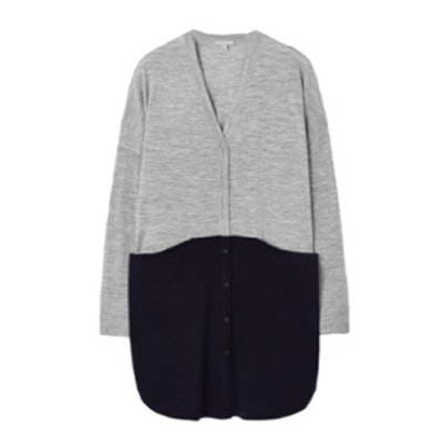 Block Colour Cardigan