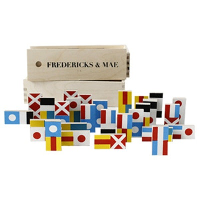 Flag Dominos