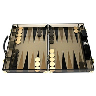 Acrylic Backgammon Attache