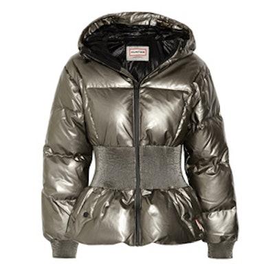 Metallic Coated-Cotton Jacket