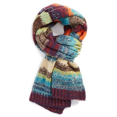 Painted Desert Striped Scarf