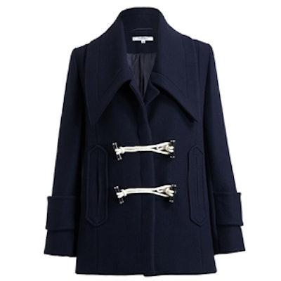 Oversize Collar Duffle Coat