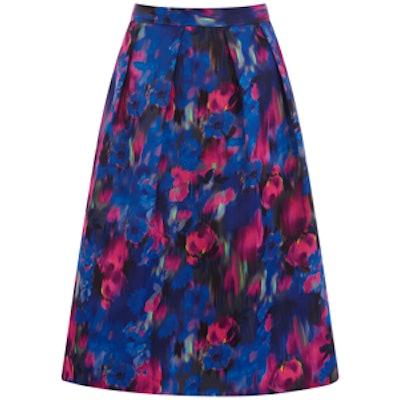 Blurred Floral Skirt