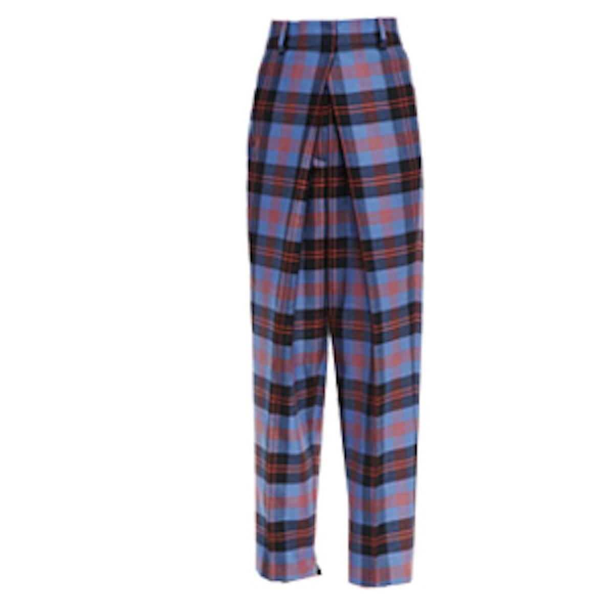 Plaid Trousers