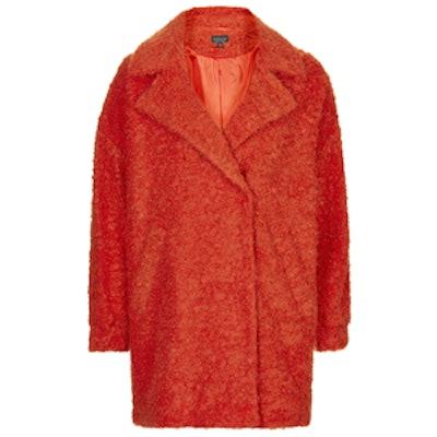 Slouchy Wool Boyfriend Coat