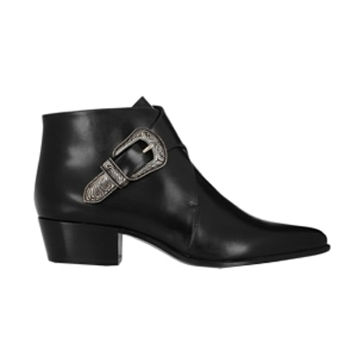 Duckies Leather Ankle Boots
