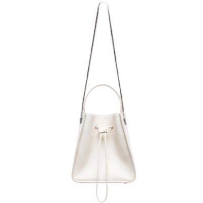 Soleil Bucket Bag in Off White