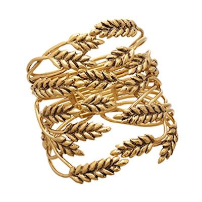 Gold Wheat Cuff