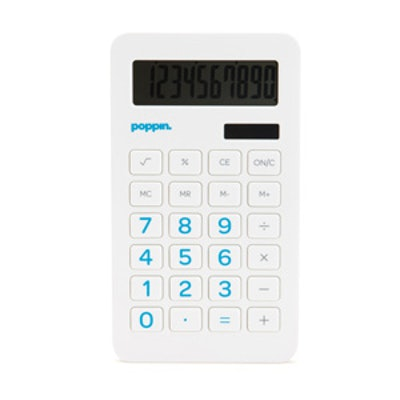 White Eco-Calculator