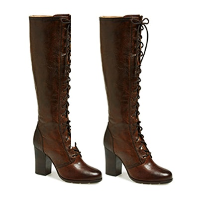 Parker Lace Up Tall Boot