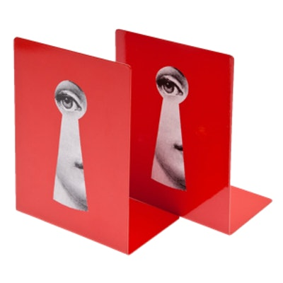 Keyhole Book Ends