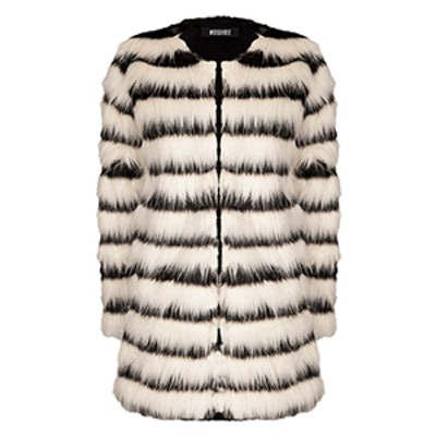 Katy Shaggy Faux Fur Coat