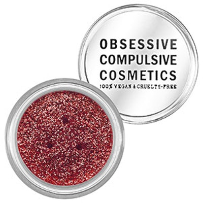 Cosmetic Glitters In Red