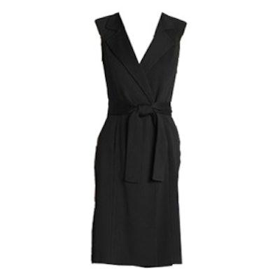 Tie Belt Maxi Vest