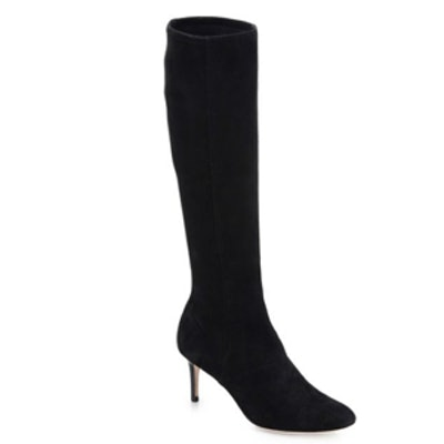 Suede Knee High Boot