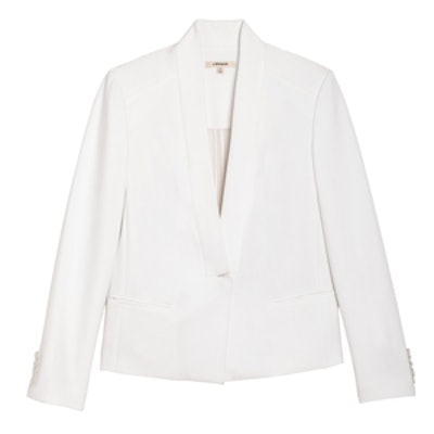 Emily Blazer in White