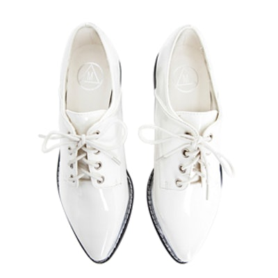 Pointed Lace-Up Brogues