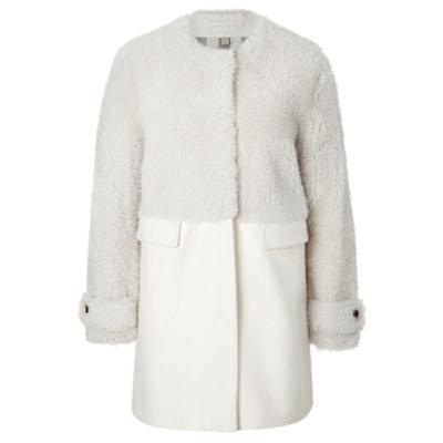 Wool Cashmere Bedwin Coat