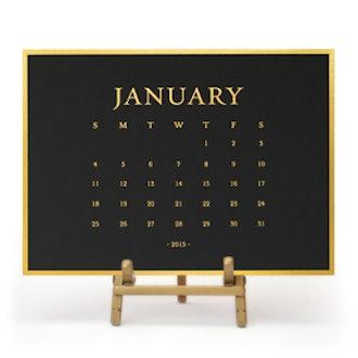 2015 Classic Desk Calendar