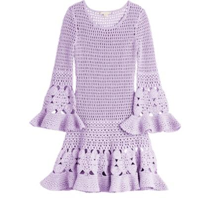 Cashmere Cotton Crochet Dress