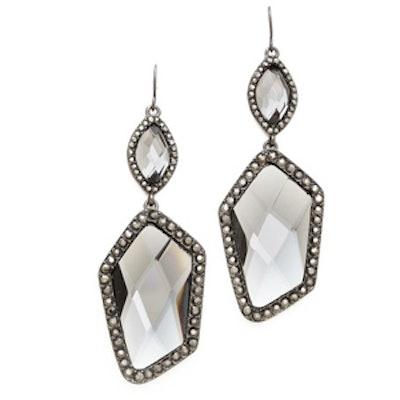 Crystal Pave Earrings