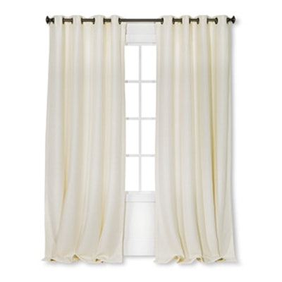 Basketweave Curtain Panel